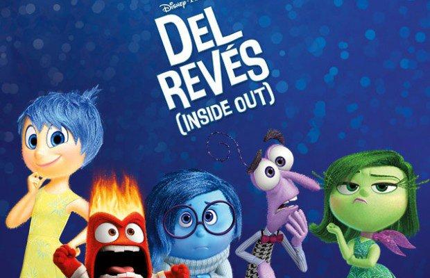 """Portada de la película """" Del Revés"""""""