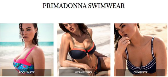 Prima Donna disponible en Lencería Borja