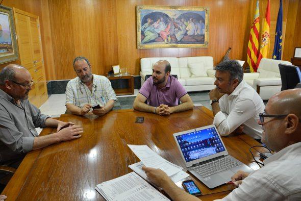 Reunión del agua en el ayuntamiento de Xàbia