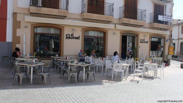 Terraza El Raconet