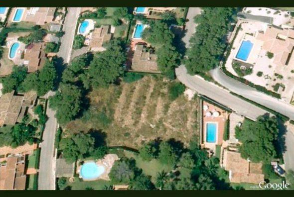 Vista aerea parcela Javea Houses Inmobiliaria