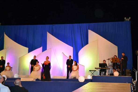 Actuación de una soprano