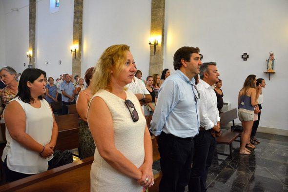 Antonio Miragall y José Chulvi en la misa