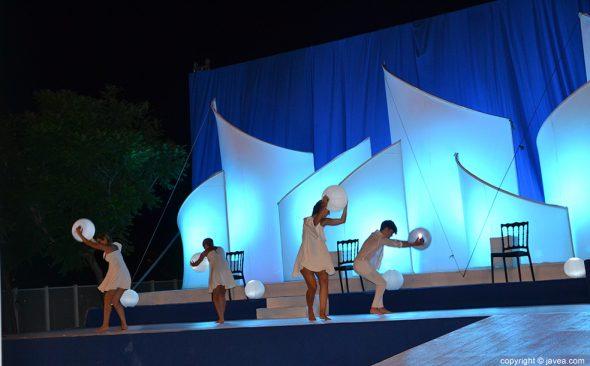 Ballet de inicio de la presentacion