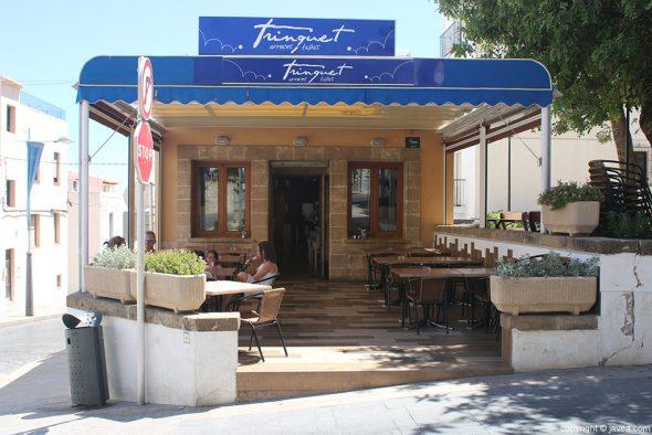 Bar Trinquet Jávea terraza