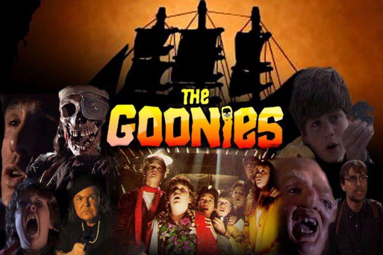 Cartel de la película Los Goonies