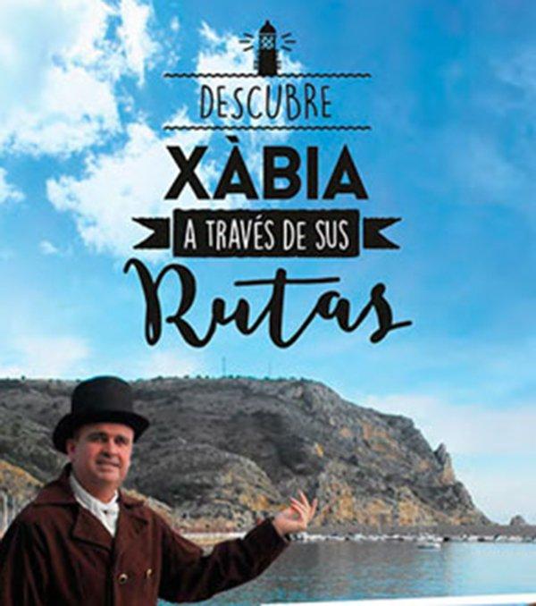 Cartel de las Rutas de Xàbia