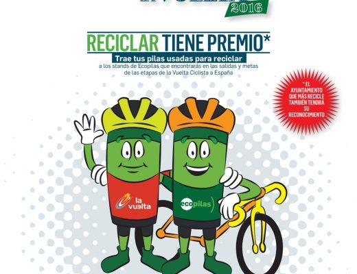 Cartel de Ecopilas para la Vuelta 2016