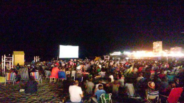 Cine Vora Mar en la playa del Arenal