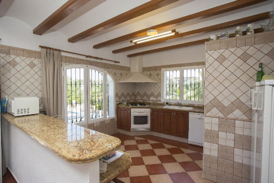 Cocina de Casa Marques de Aguila Rent a Villa