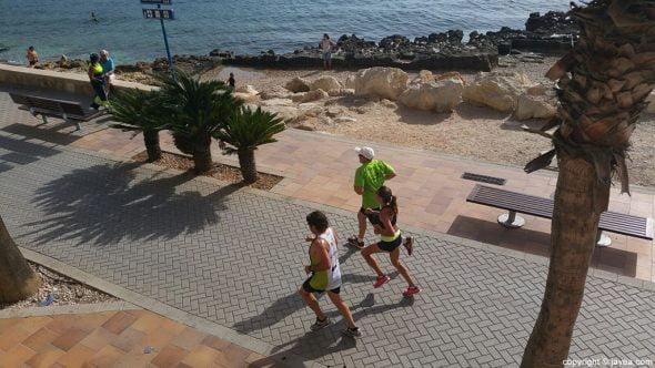 Corredores durante la cursa