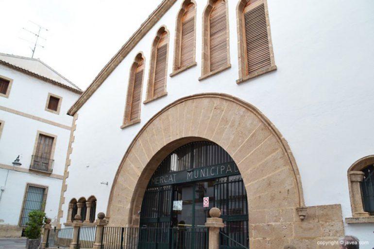 Entrada del Mercado Municipal de Xàbia