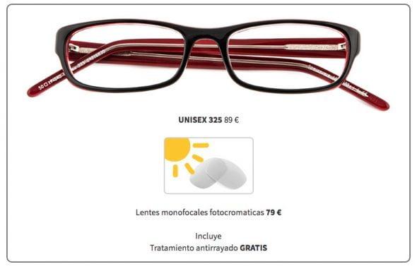 fotocromáticas specsavers