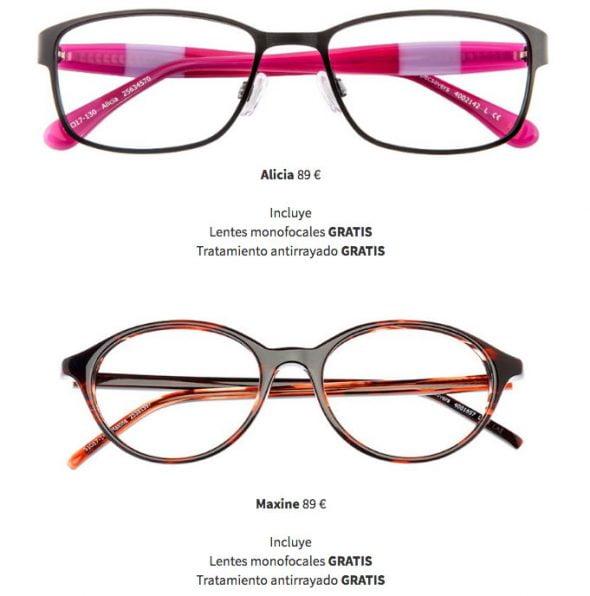 Gafas en oferta Specsavers
