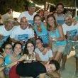Grupo de amigos y festeros