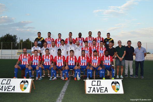 Plantilla CD Jávea Temporada 2016-17