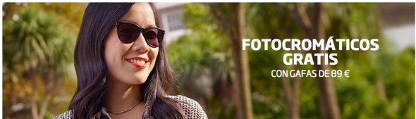 Promoción fotocromática Specsavers