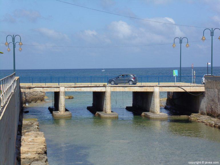 Puente de Triana en Xàbia