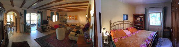sala de estar y habitación Terramar Costa Blanca