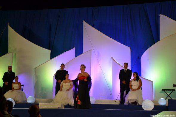 Actuación de una soprano de ópera