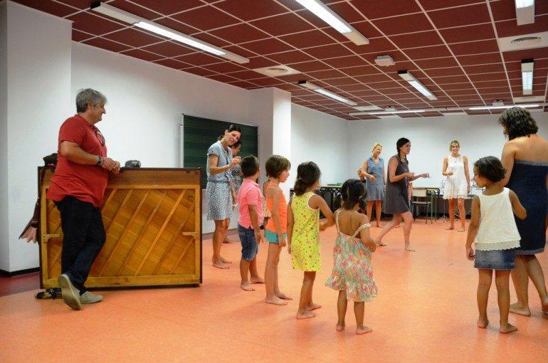 Taller de música para niños en Xàbia