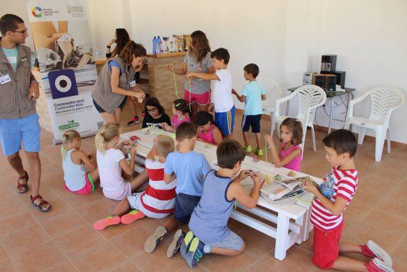 Se conciencia a los más pequeños la importancia de reciclar