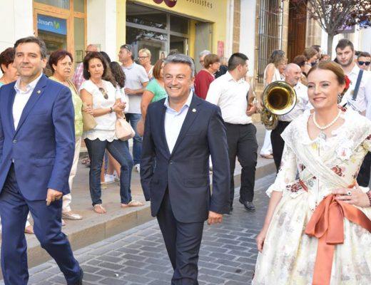 Presidenta de Fogueres de 2016, Mavi Pérez
