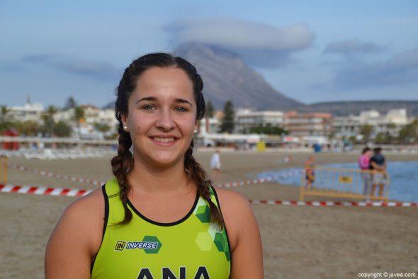 Ana Bisquert paarticipó en el Trixàbia en la categoría sprint