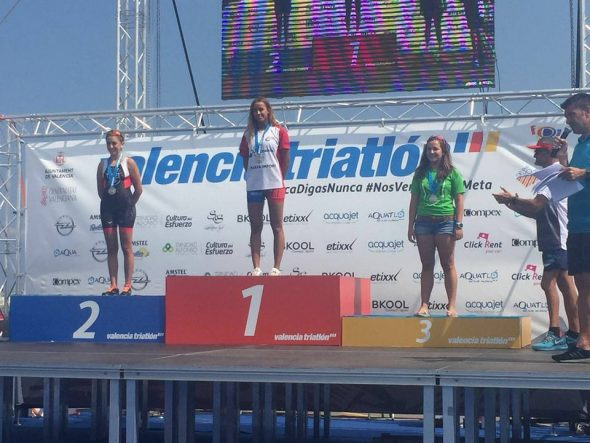 La atleta Ana Bisquert