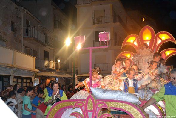 Desfile carrozas