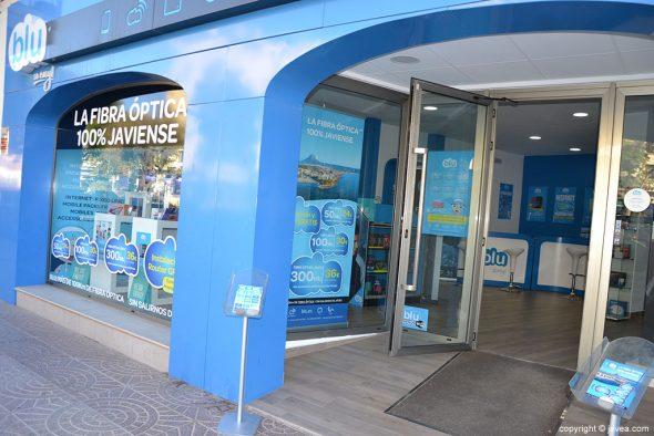 Blu tiene la oficina en la zona del puerto