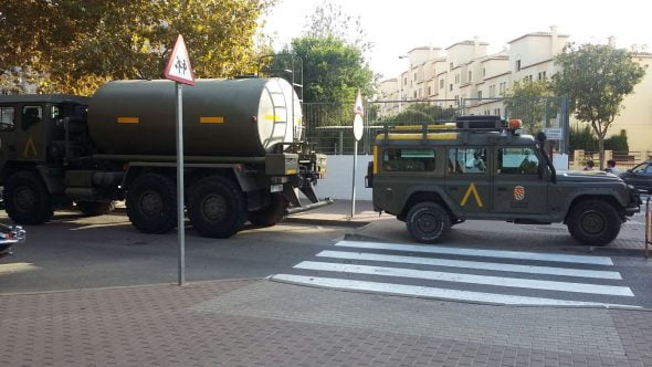 Campamento militar