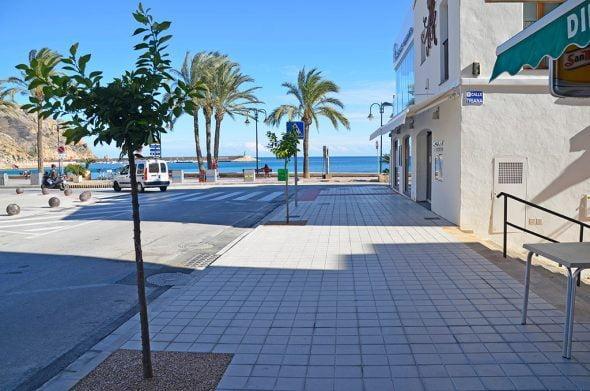 Avenida Jaime I en la zona del puerto