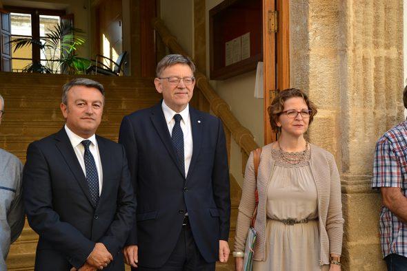 Reunión de Generalitat para coordinar el post incendio