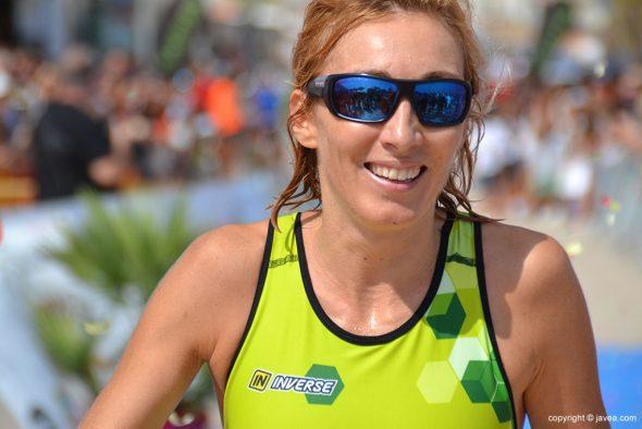 Mª Isabel Ferrer ganadora del triatlón Sprint