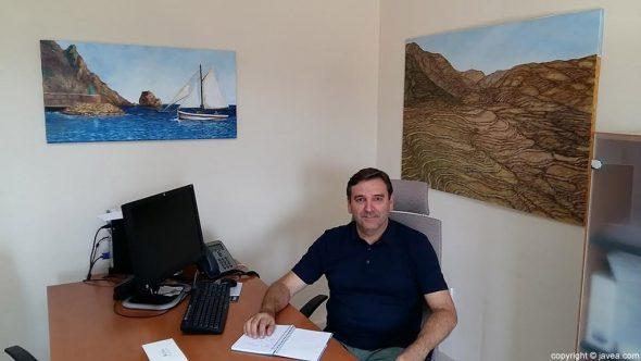 El concejal de Fiestas, Antonio Miragall