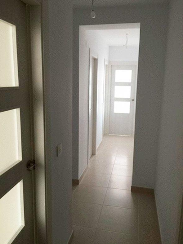 Pasillo de la vivienda Casa Nova Villas Inmobiliaria