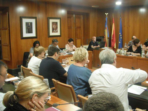 Pleno de septiembre en Xàbia