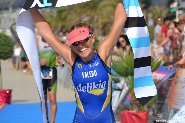 Silvia Valero la mejor en el triatlón Olímpico