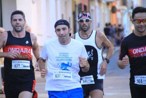 Adrián Hadri durante la carrera