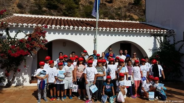 Alumnos del colegio Port de Xàbia