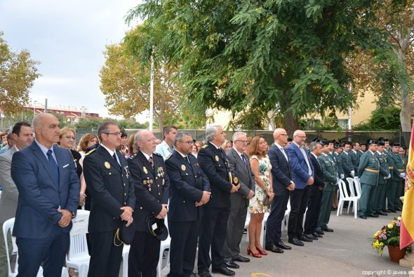 Acto de la Guardia Civil