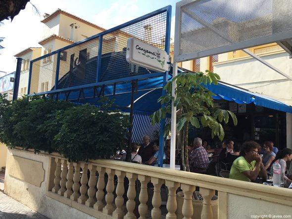 Bar Canyamel terraza