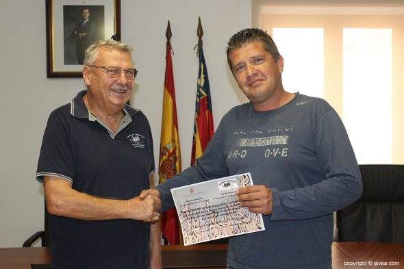Reconocen el trabajo de los Bomberos Voluntarios de Benitatxell