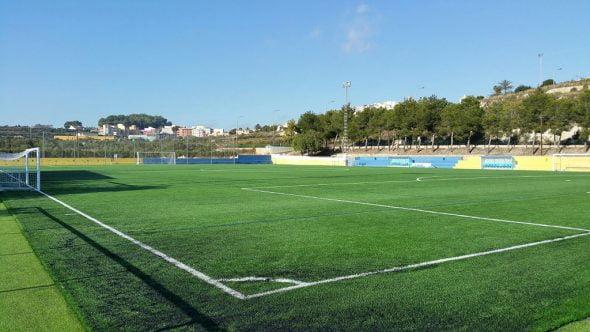 Campo de fútbol Municipal  La Font  de El Poble nou de Benitatxell