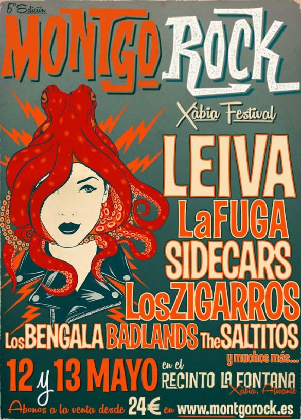 Cartel Montgó Rock Festival