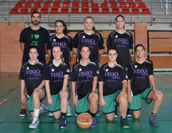 Equipo senior Femenino CB Joventut Xàbia