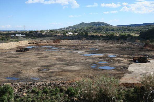 Ramblars, planta de residuos verdes