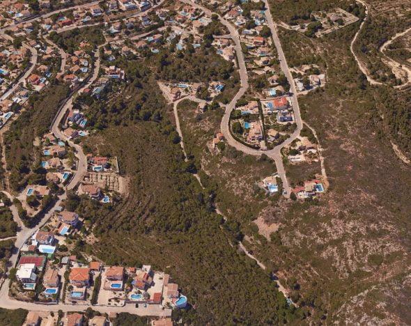 Zona Los Girasoles de Benitatxell