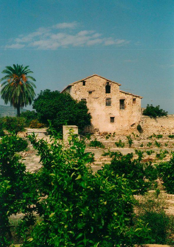 En la partida rural de Benigalip se encontraban doce propiedadedes, Casa